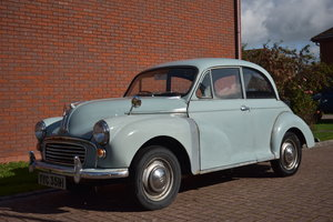 LOT 4: A 1970 Morris Minor 1000 two door saloon - 03/11/19 SOLD