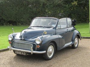 1964 Morris Minor Convertible at ACA 2nd November  For Sale