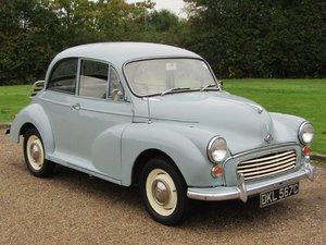 1965 Morris Minor 1000 at ACA 2nd November  For Sale