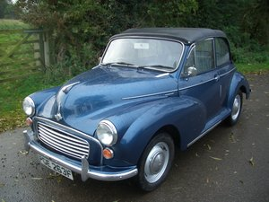 1968 Morris Minor Convertible For Sale