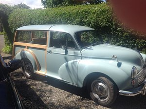 1962 Morris Minor Traveller For Sale