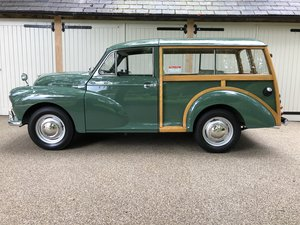 1970 Multi award winning concourse Morris Traveller