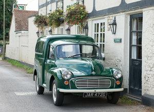 1969 Morris Minor Van Professionally Restored For Sale