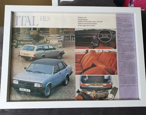 Picture of 1982 Original Morris Ital Advert