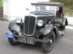 1937  Morris 8 series 1 tourer  For Sale