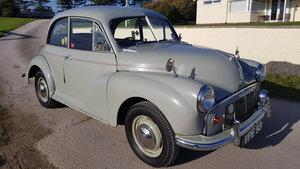 1954 Morris Minor Series II 2 Door  Saloon, Birch Grey For Sale