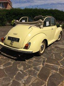 1968 Morris Minor 1000 Convertable
