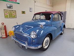 Morris Minor Convertible 1955 Split Scren Pls.READ ADD FULLY For Sale