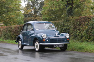 1954 Morris Minor Series II, £16k spent, 1 family since 1974