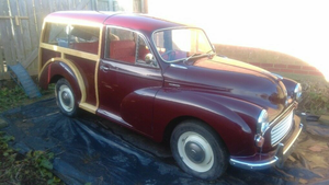 1970 Morris Traveller in Maroon  For Sale