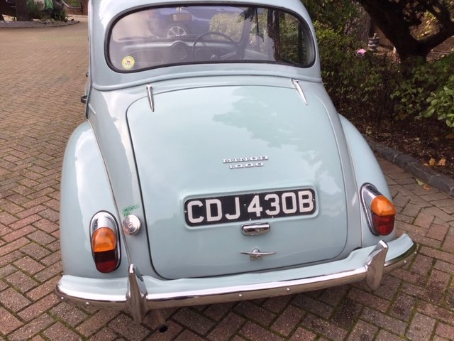 Morris Minor 1000, 1098cc, 1964 SOLD (picture 2 of 6)