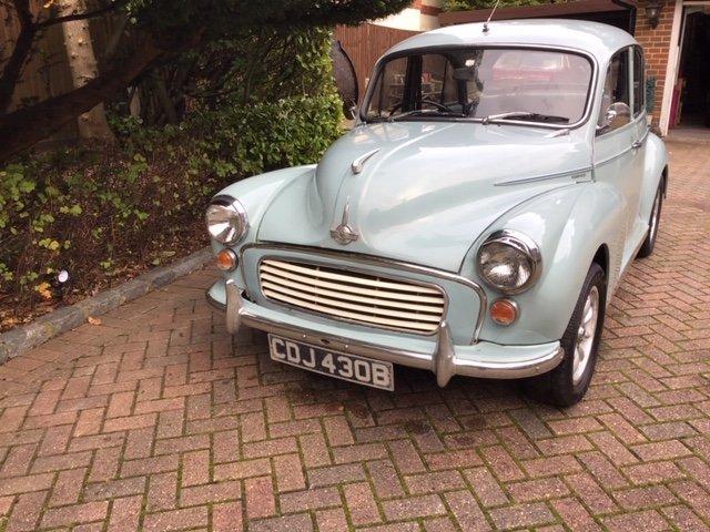 Morris Minor 1000, 1098cc, 1964 SOLD (picture 6 of 6)