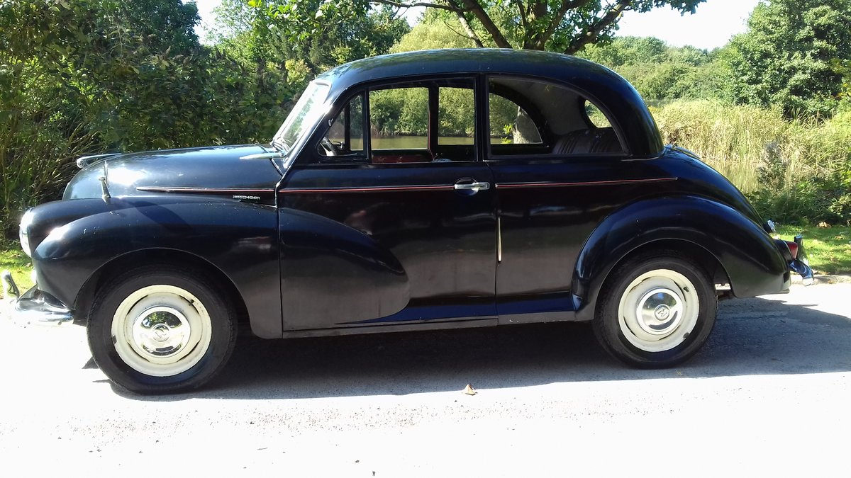 1955 MORRIS MINOR SERIES II 'SPLIT-SCREEN' ~ INVESTMENT!!    SOLD (picture 1 of 6)