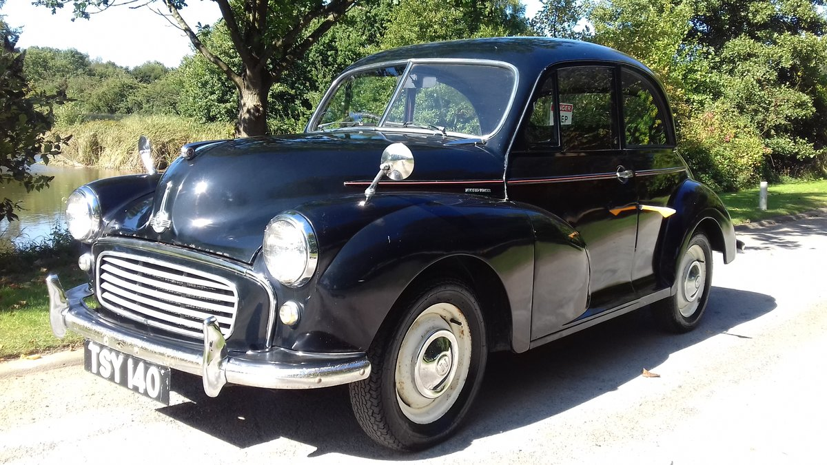 1955 MORRIS MINOR SERIES II 'SPLIT-SCREEN' ~ INVESTMENT!!    SOLD (picture 2 of 6)