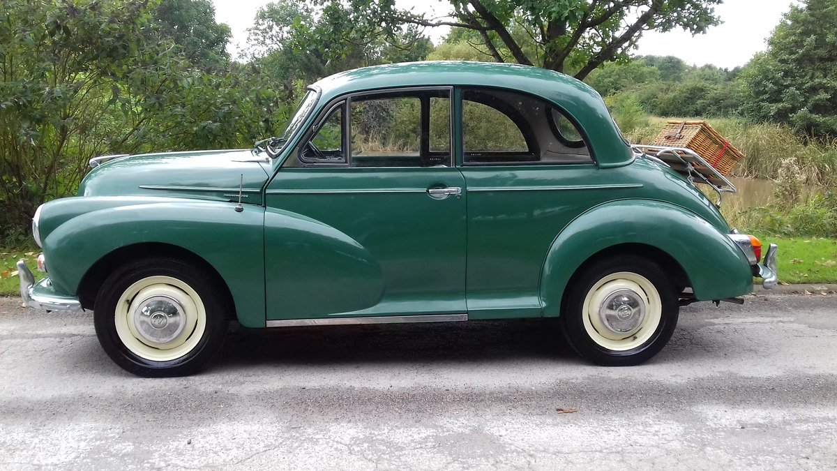 1967 MORRIS MINOR 1000 'STANLEY' ~ SUPER ENTRY CLASSIC!!!    SOLD (picture 1 of 6)