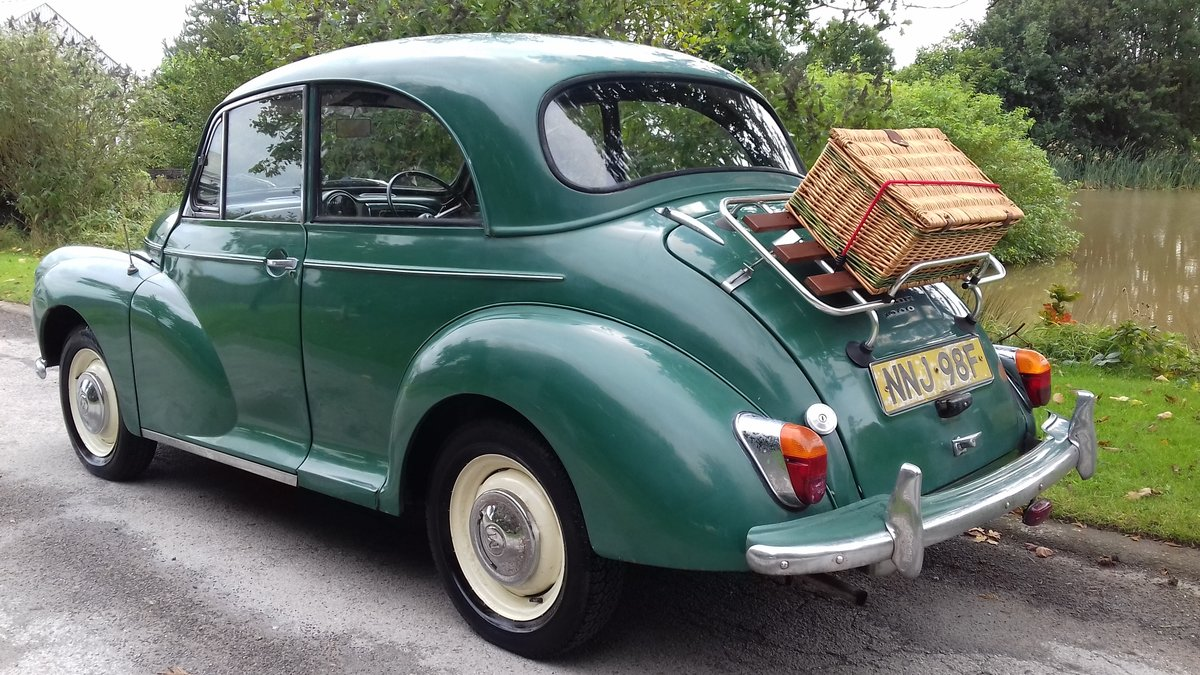 1967 MORRIS MINOR 1000 'STANLEY' ~ SUPER ENTRY CLASSIC!!!    SOLD (picture 3 of 6)