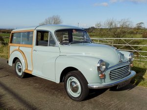 Restored 1960 Morris Minor Traveller