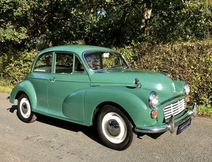 1966 Morris Minor Saloon - Beautifully restored Moggy 1000 SOLD