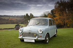 1963 MORRIS–MINI-MINOR SUPER DE LUXE MK1 850cc For Sale