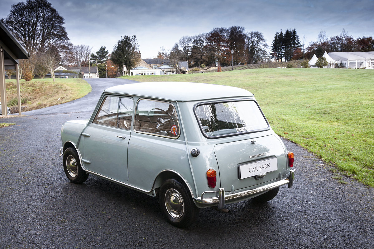 1963 MORRIS–MINI-MINOR SUPER DE LUXE MK1 850cc For Sale (picture 4 of 6)