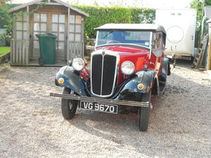 1937 Morris 8 Tourer For Sale