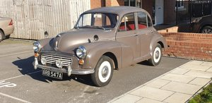 **DECEMBER AUCTION** 1963 Morris Minor 1000 SOLD by Auction