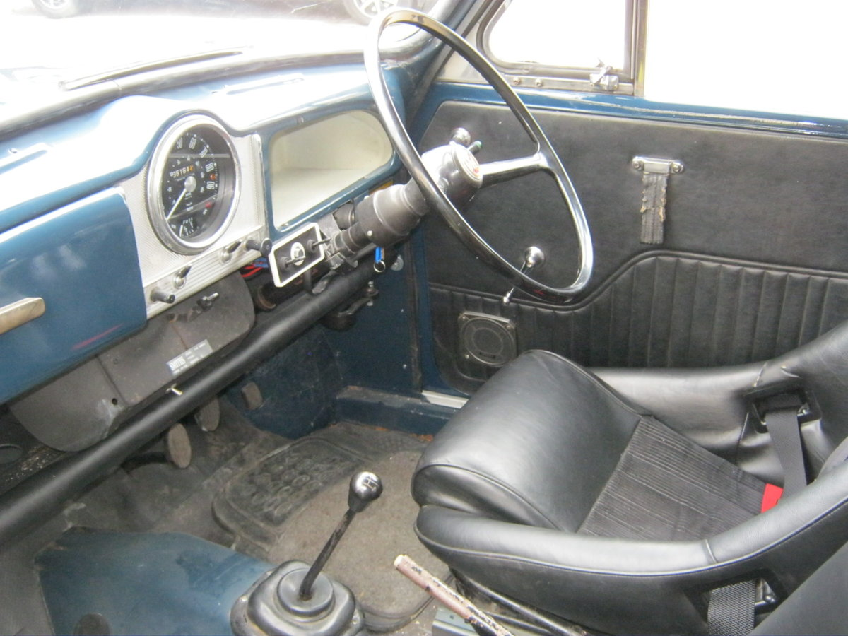 1972 MORRIS MINOR 1000 8CWT VAN. 1275cc MG ENGINE. For Sale (picture 5 of 6)