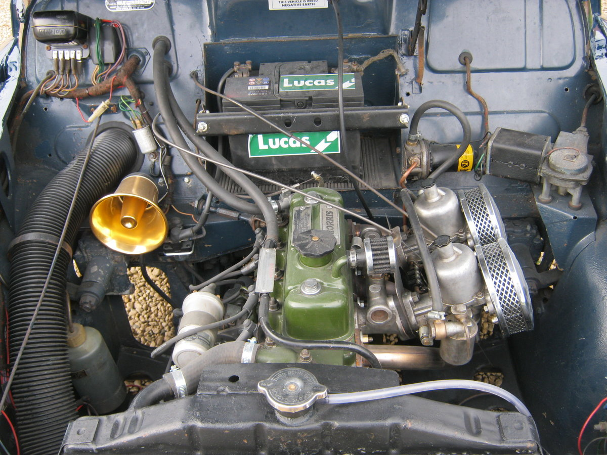1972 MORRIS MINOR 1000 8CWT VAN. 1275cc MG ENGINE. For Sale (picture 6 of 6)