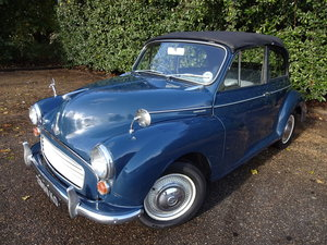 1964 Morris Minor 1000 factory built convertible For Sale