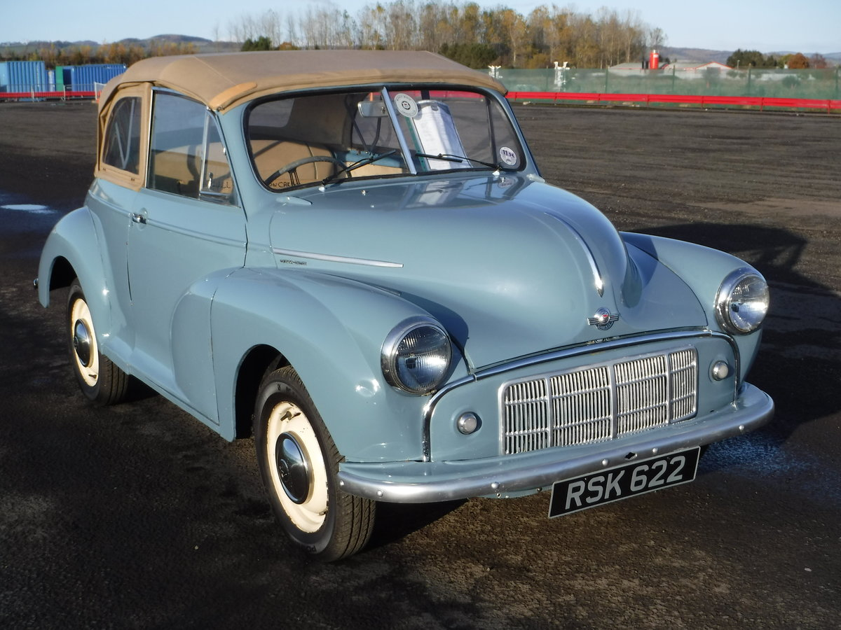 1951 Morris Minor Series MM Tourer SOLD by Auction (picture 1 of 5)