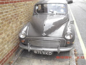 1963 Morris Minor 1000 Classic 2 Door Salo Vintage  For Sale