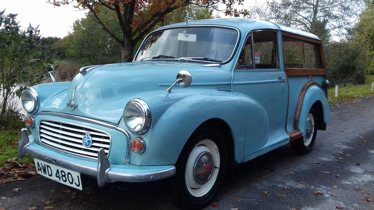 1970 MORRIS MINOR TRAVELLER ~ STARTER CLASSIC ~ VALUE! SOLD (picture 1 of 6)