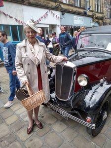 1936 Morris 8 two door saloon