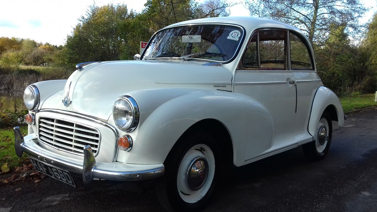 1966 MORRIS MINOR 1000 'GLADYS' ~ LOVELY EXAMPLE !!!    SOLD (picture 1 of 6)