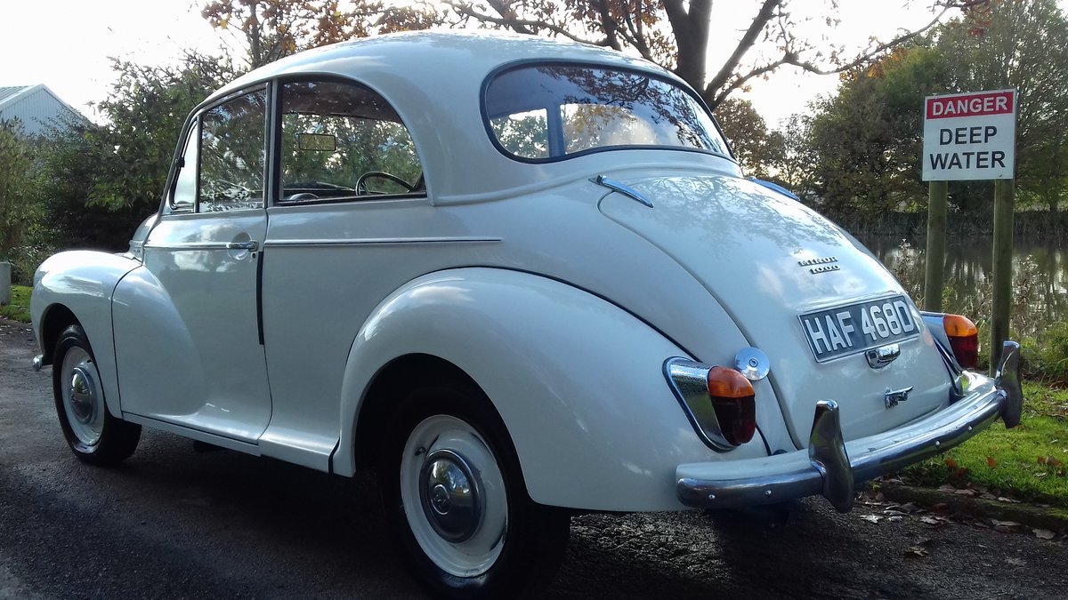 1966 MORRIS MINOR 1000 'GLADYS' ~ LOVELY EXAMPLE !!!    SOLD (picture 3 of 6)
