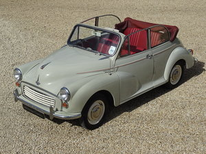1959 Morris 1000 Factory Convertible – Very Original For Sale