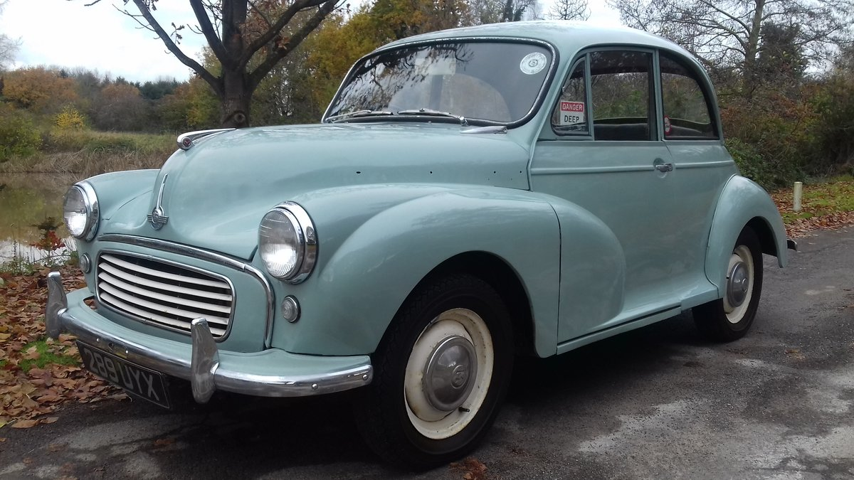 1961 MORRIS MINOR 1000 'JESSIE' ~ BARGAIN TO CLEAR  !!!    SOLD (picture 2 of 6)