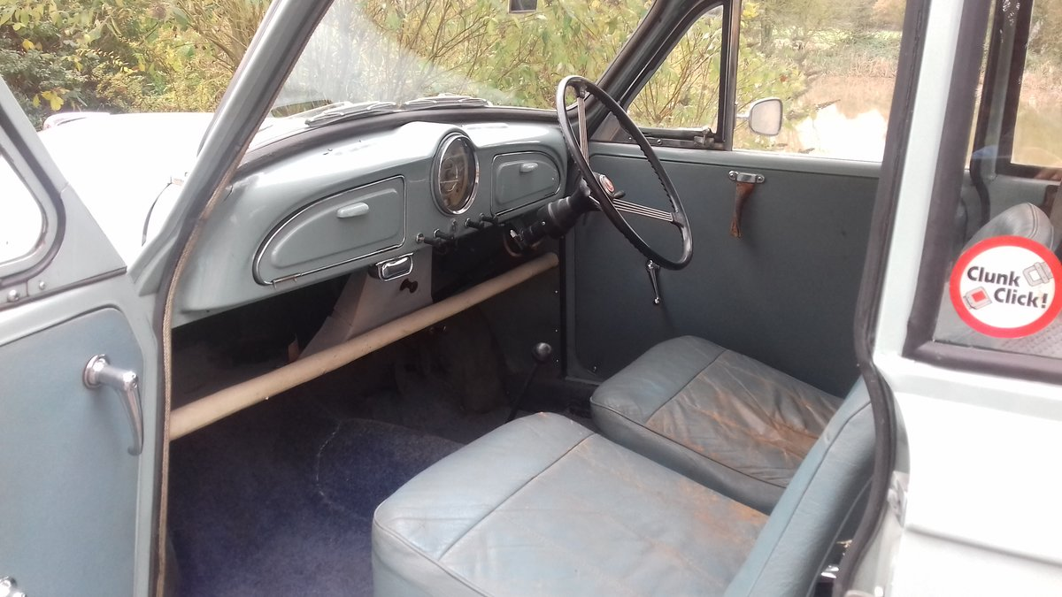 1961 MORRIS MINOR 1000 'JESSIE' ~ BARGAIN TO CLEAR  !!!    SOLD (picture 3 of 6)