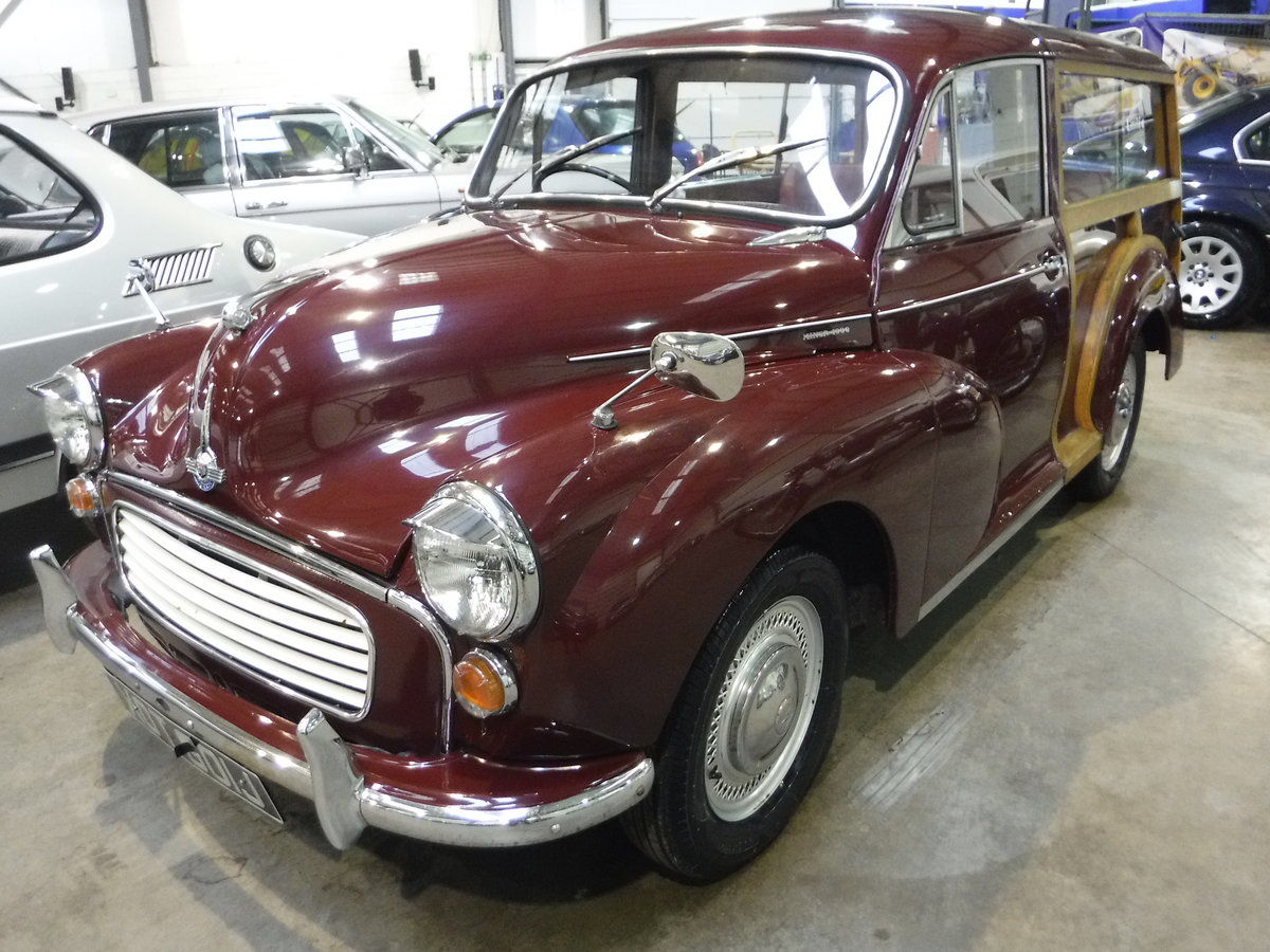 1970 Morris Minor 1000 SOLD by Auction (picture 1 of 6)