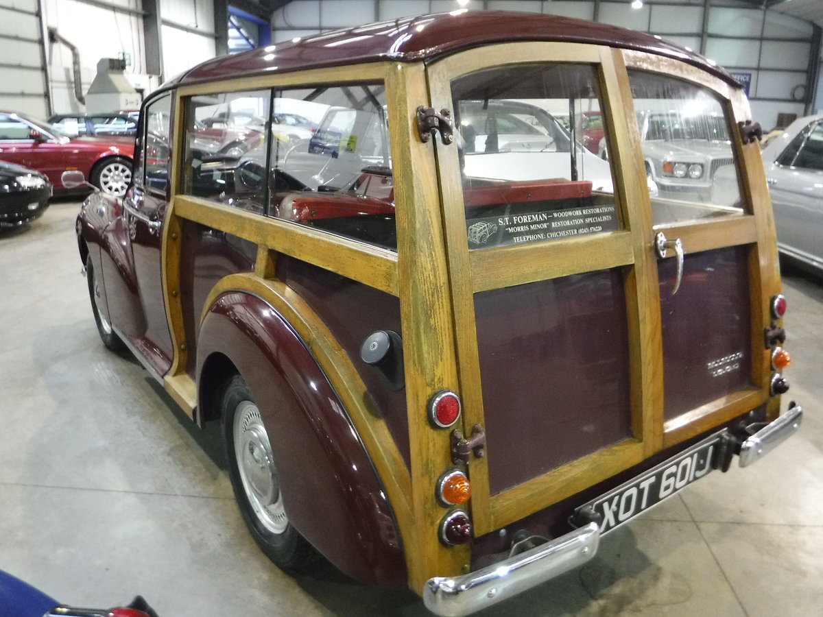 1970 Morris Minor 1000 SOLD by Auction (picture 3 of 6)