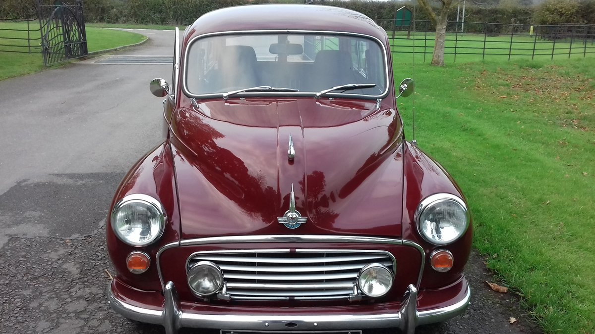1965 Morris Minor 1000 For Sale (picture 4 of 6)