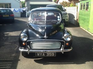 1956 Morris Minor Split Screen