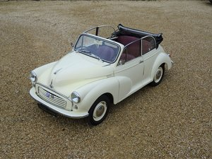 1959 Morris 1000 Factory Convertible – £19k Restoration