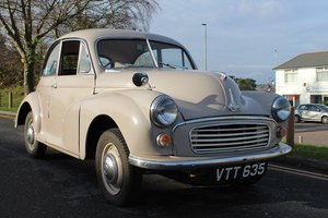 Morris Minor 1956 - To be auctioned 31-01-20