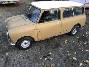 1961 Morris Mini Smooth Roof Van Mk1 Ideal shows
