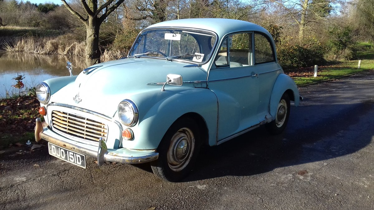 1966 MORRIS MINOR 1000  ~ SPARES OR REPAIRS ~ RUNS & DRIVES! SOLD (picture 1 of 6)