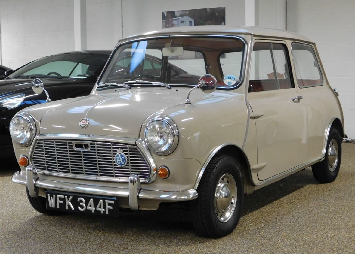 1968 MORRIS MINI 1000 DELUXE FOR SALE ** ONLY 57,800 MILES ** For Sale (picture 1 of 6)