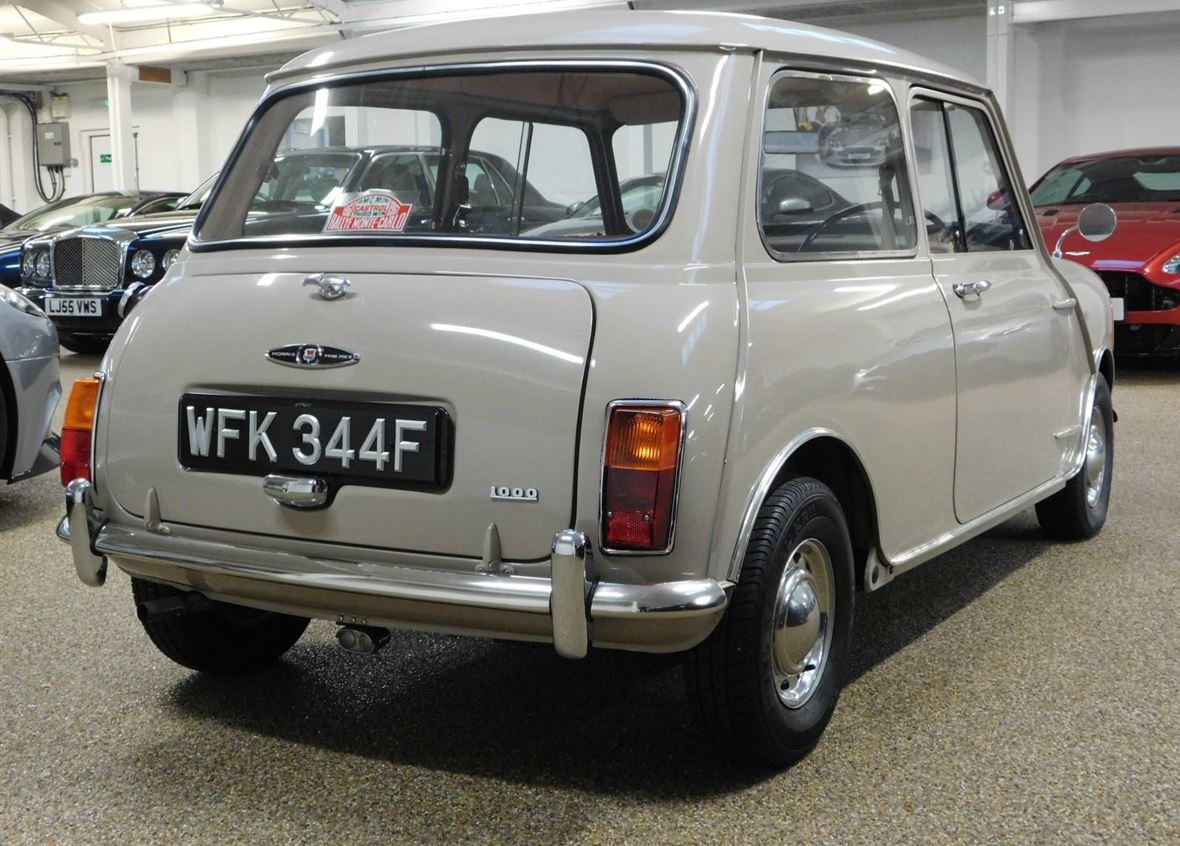 1968 MORRIS MINI 1000 DELUXE FOR SALE ** ONLY 57,800 MILES ** For Sale (picture 2 of 6)