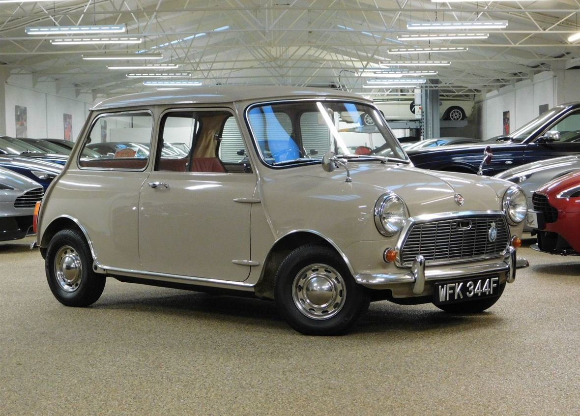 1968 MORRIS MINI 1000 DELUXE FOR SALE ** ONLY 57,800 MILES ** For Sale (picture 3 of 6)