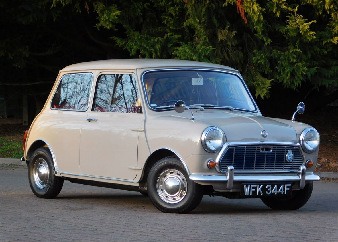 1968 MORRIS MINI 1000 DELUXE FOR SALE ** ONLY 57,800 MILES ** For Sale (picture 4 of 6)